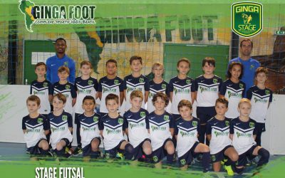 Fin d'une semaine de stage futsal Ginga Foot !