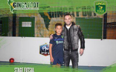 Dernier stage de l'année au Ginga-Foot avec Mathieu Valbuena