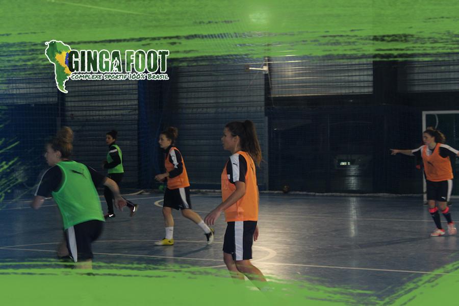 Les Girondines au GINGA FOOT !