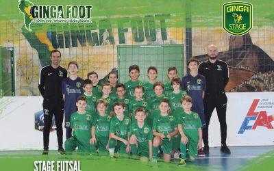Ginga Foot remercie ses jeunes footeux qui sont venus arpenter nos terrains de futsal