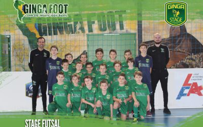 Stage Futsal Ginga Foot – Du 24 au 28 AVRIL 2017